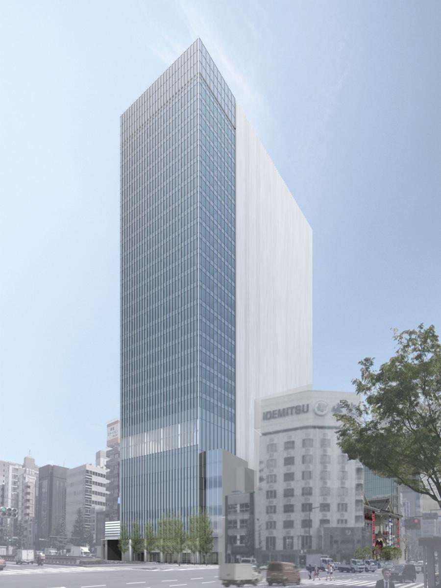 歌舞伎座タワー 完成イメージ 画像