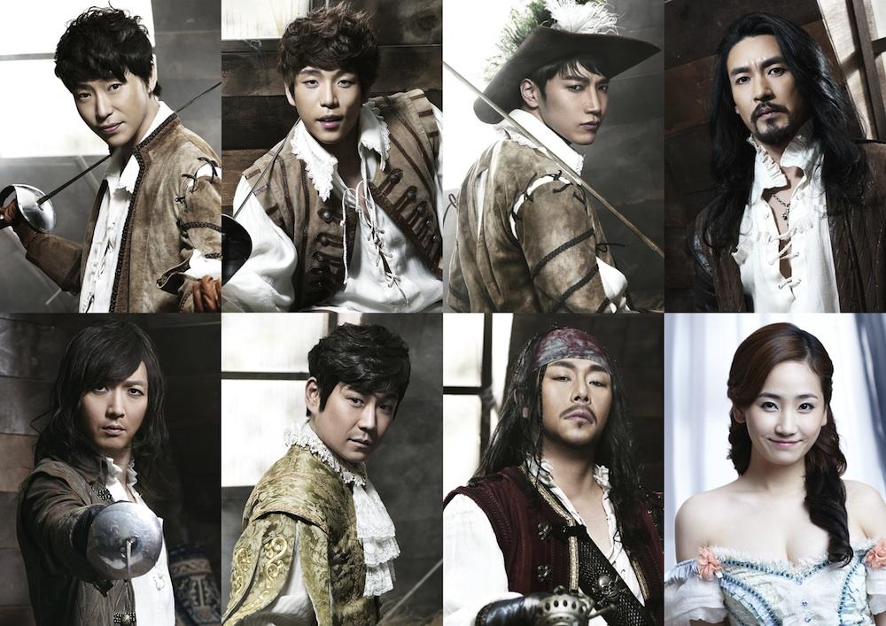 韓国ミュージカル「三銃士」画像