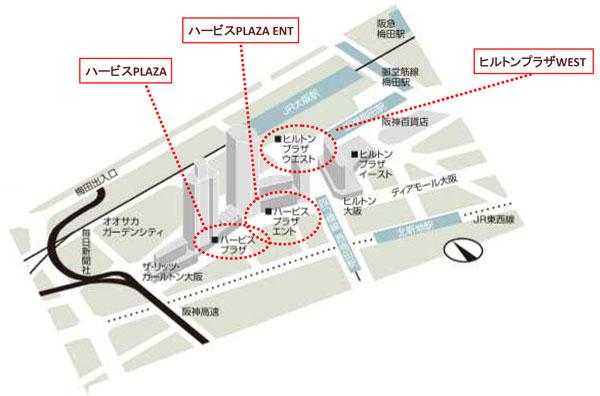 劇団四季展 地図画像