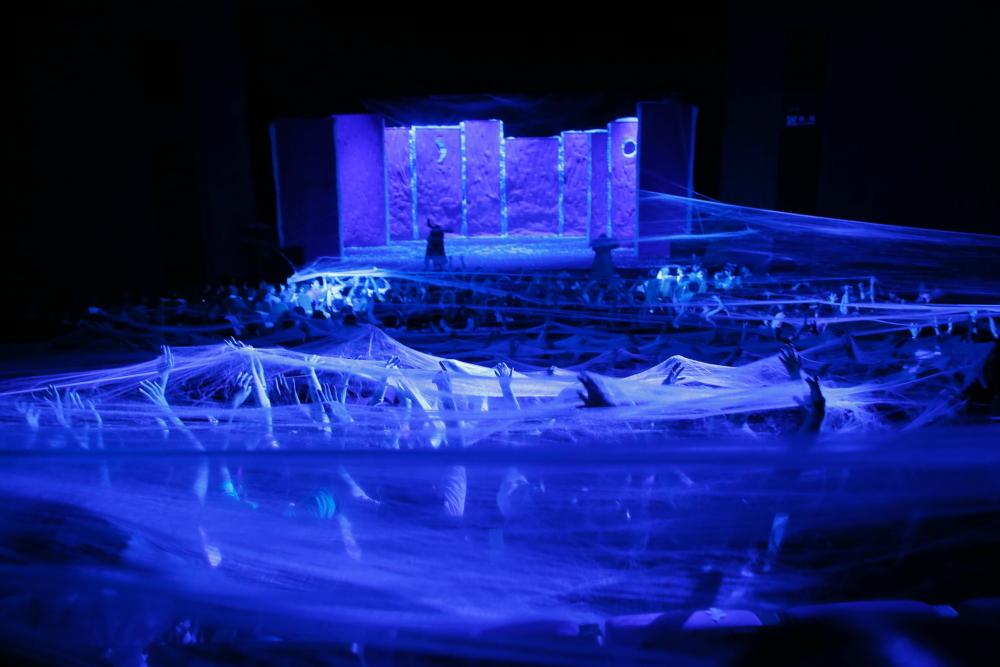 「スラバのスノーショー」東京公演舞台写真3
