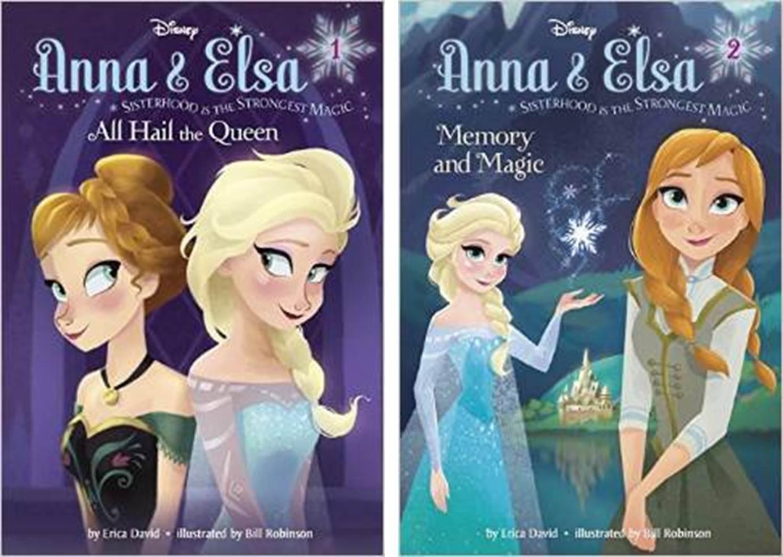 Anna & Elsa #1 #2 書影