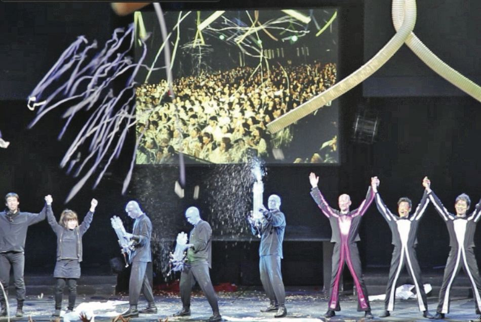 「BLUE MAN GROUP IN TOKYO 通算1000回公演」画像2