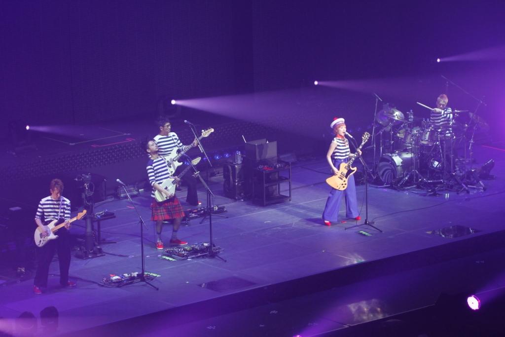 東京事変『Bon Voyage』live画像